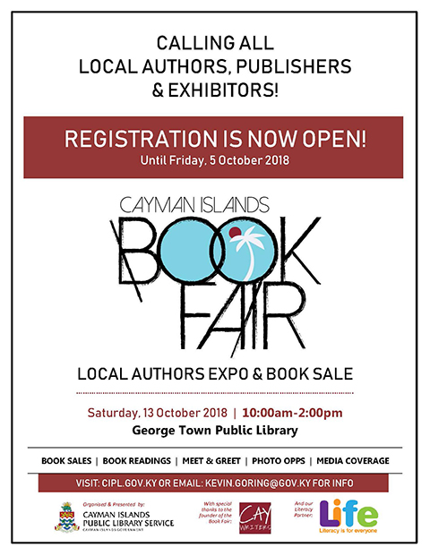 Cayman Islands Book Fair 2018 - Call for Authors