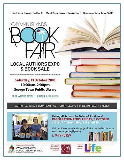 Cayman Islands Book Fair 2018 Attendees
